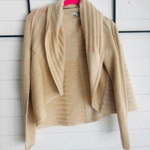 Beautiful CABI cream colored sweater